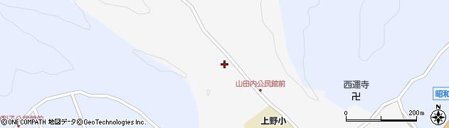 大分県佐伯市弥生大字上小倉351周辺の地図