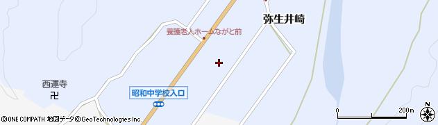 大分県佐伯市弥生大字井崎981周辺の地図