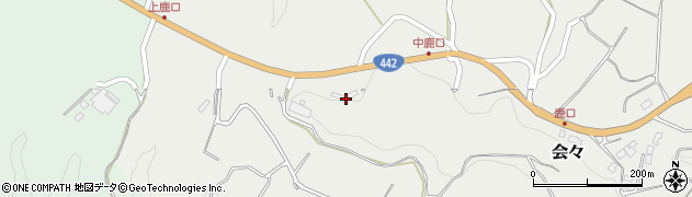 大分県竹田市会々5216周辺の地図