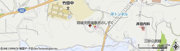 大分県竹田市飛田川3435周辺の地図