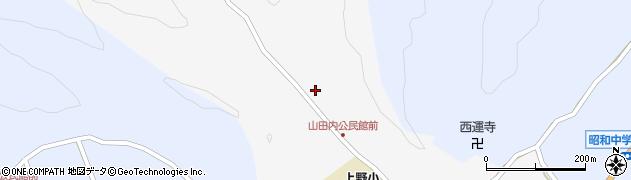 大分県佐伯市弥生大字上小倉354周辺の地図