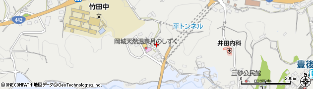 大分県竹田市飛田川3462周辺の地図