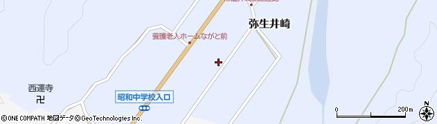 大分県佐伯市弥生大字井崎958周辺の地図