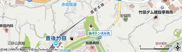 大分県竹田市会々2242周辺の地図