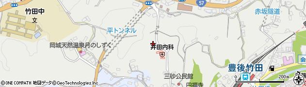大分県竹田市会々2611周辺の地図