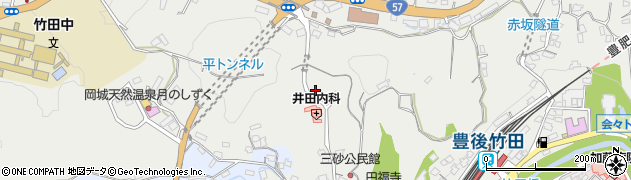 大分県竹田市会々2591周辺の地図