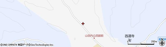 大分県佐伯市弥生大字上小倉244周辺の地図