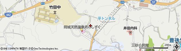 大分県竹田市飛田川3463周辺の地図