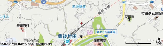 大分県竹田市会々2293周辺の地図