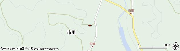 大分県竹田市市用212周辺の地図