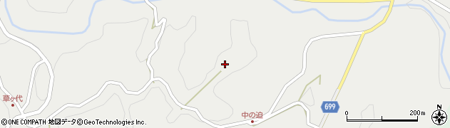 大分県竹田市志土知1390周辺の地図