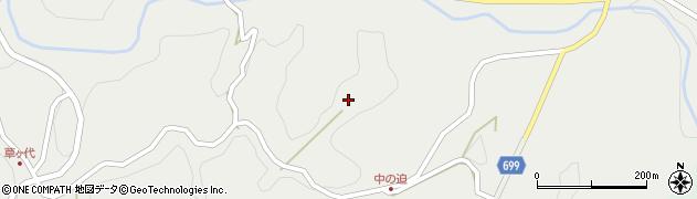 大分県竹田市志土知周辺の地図