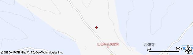 大分県佐伯市弥生大字上小倉241周辺の地図