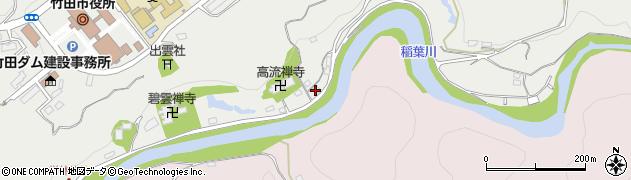 大分県竹田市会々1961周辺の地図