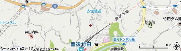 大分県竹田市会々2291周辺の地図