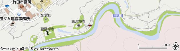 大分県竹田市会々1963周辺の地図