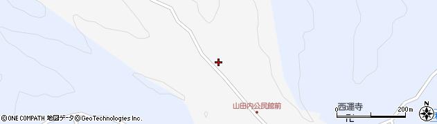 大分県佐伯市弥生大字上小倉248周辺の地図