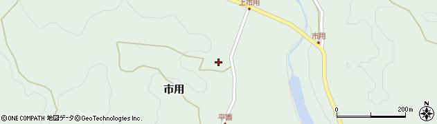 大分県竹田市市用180周辺の地図
