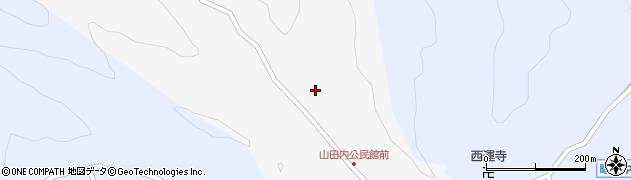 大分県佐伯市弥生大字上小倉234周辺の地図