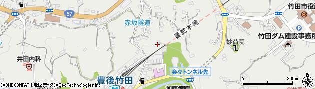 大分県竹田市会々2278周辺の地図