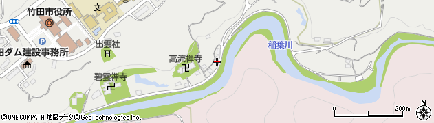 大分県竹田市会々1964周辺の地図