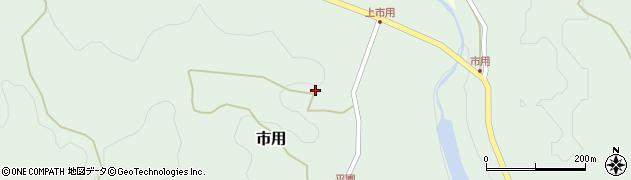 大分県竹田市市用184周辺の地図
