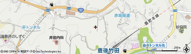 大分県竹田市会々2659-3周辺の地図