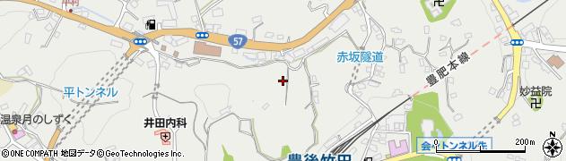 大分県竹田市会々2657周辺の地図