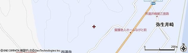 大分県佐伯市弥生大字井崎2417周辺の地図