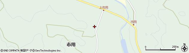 大分県竹田市市用157周辺の地図