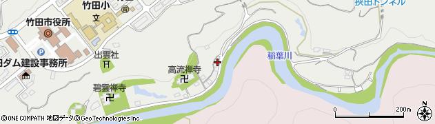 大分県竹田市会々1975周辺の地図
