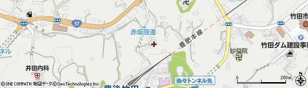 大分県竹田市会々1323周辺の地図