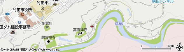 大分県竹田市会々1973周辺の地図