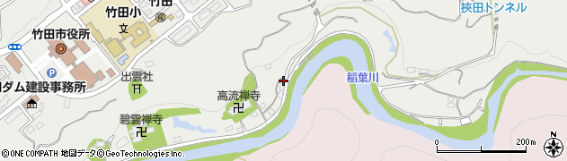 大分県竹田市会々1977周辺の地図