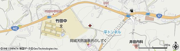 大分県竹田市会々3367周辺の地図