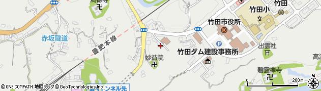 大分県竹田市会々1525周辺の地図