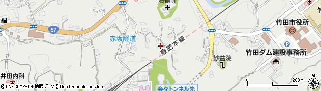 大分県竹田市会々1352周辺の地図