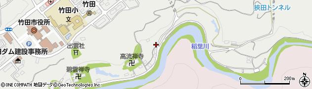 大分県竹田市会々1978周辺の地図