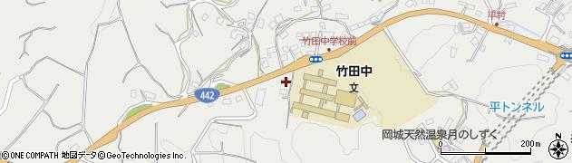 大分県竹田市会々3554周辺の地図
