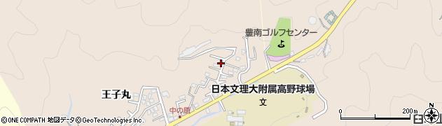 大分県佐伯市鶴望3573周辺の地図