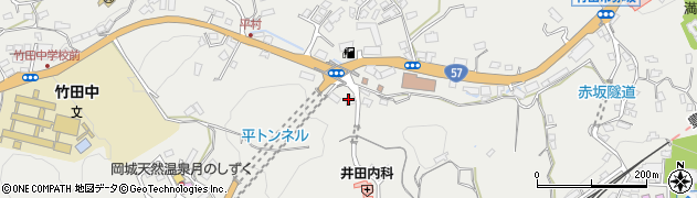 大分県竹田市会々2617周辺の地図