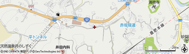 大分県竹田市会々2652周辺の地図