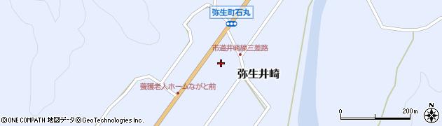 大分県佐伯市弥生大字井崎1124周辺の地図