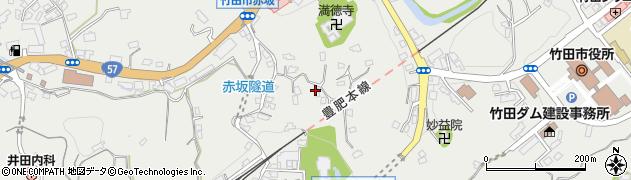 大分県竹田市会々1350周辺の地図