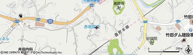 大分県竹田市会々1294周辺の地図