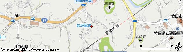 大分県竹田市会々1327周辺の地図