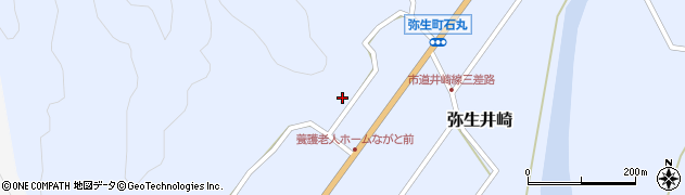 大分県佐伯市弥生大字井崎1412周辺の地図