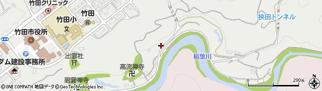 大分県竹田市会々1982周辺の地図
