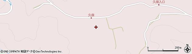 大分県竹田市久保800周辺の地図