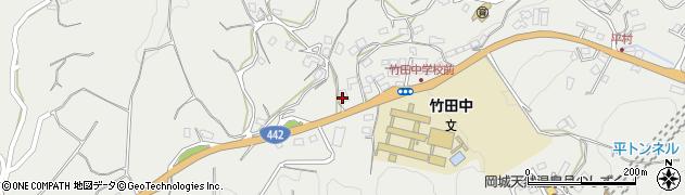 大分県竹田市会々3538周辺の地図